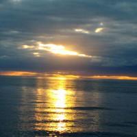 Hauraki gulf sunset