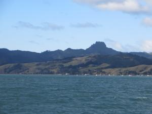 Coromandel Harbour view to the penisualar ranges